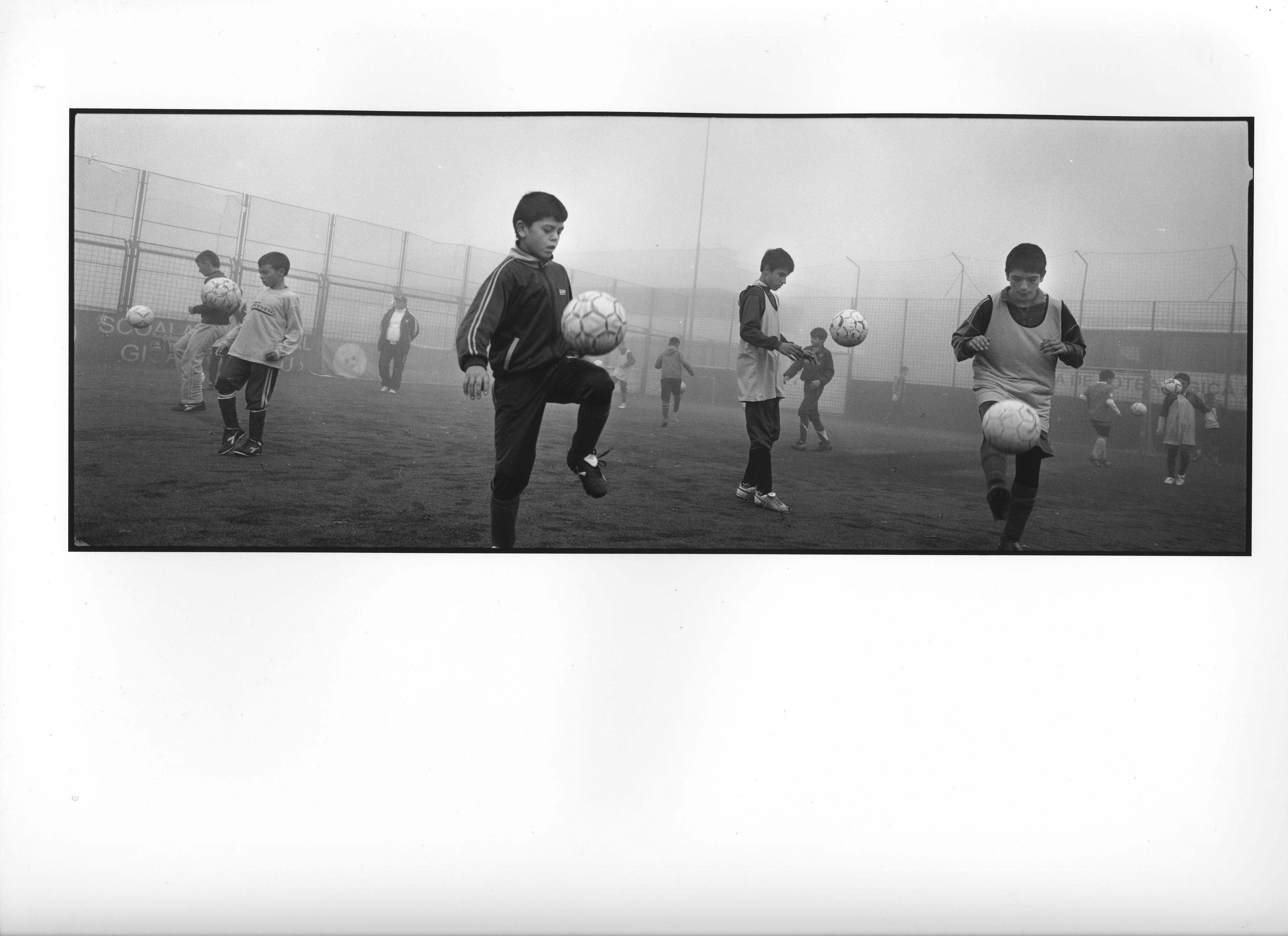 Fotballdrømmen, Romania 2008 (15) 40x100cm Gelatine Silver Print