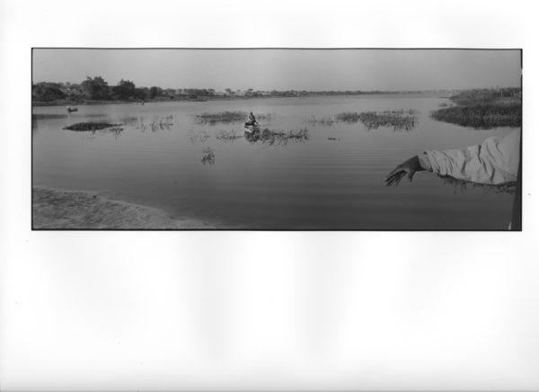 Tsjadsjøen, Tsjad 2012 (15) (B) 40x100cm Gelatine Silver Print