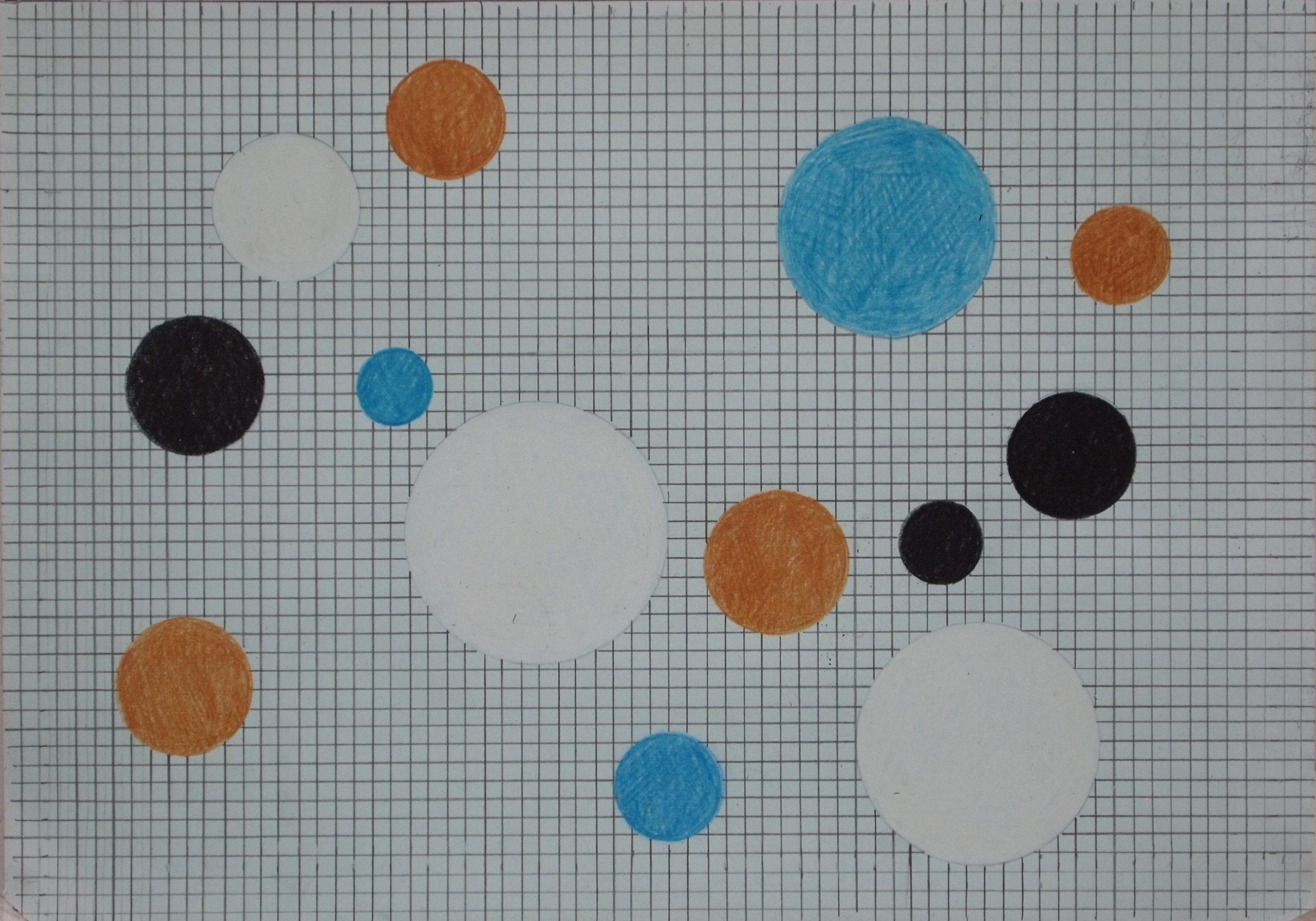 Anne Rolfsen, Punkt og linjer