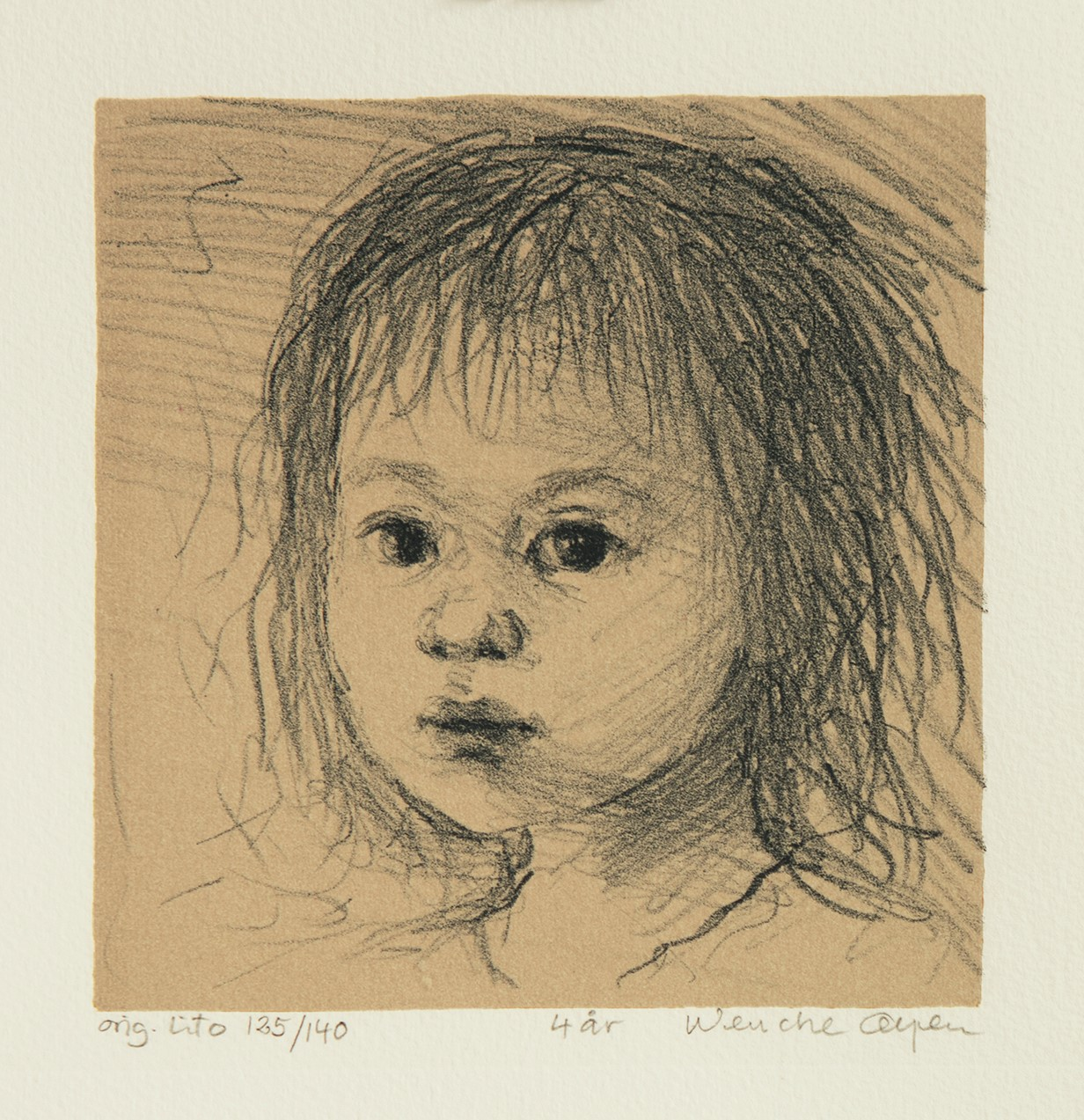 Wenche Øyen, 4 år